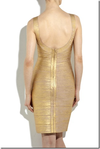 Herve Leger Metallic bandage dress_02_LRG